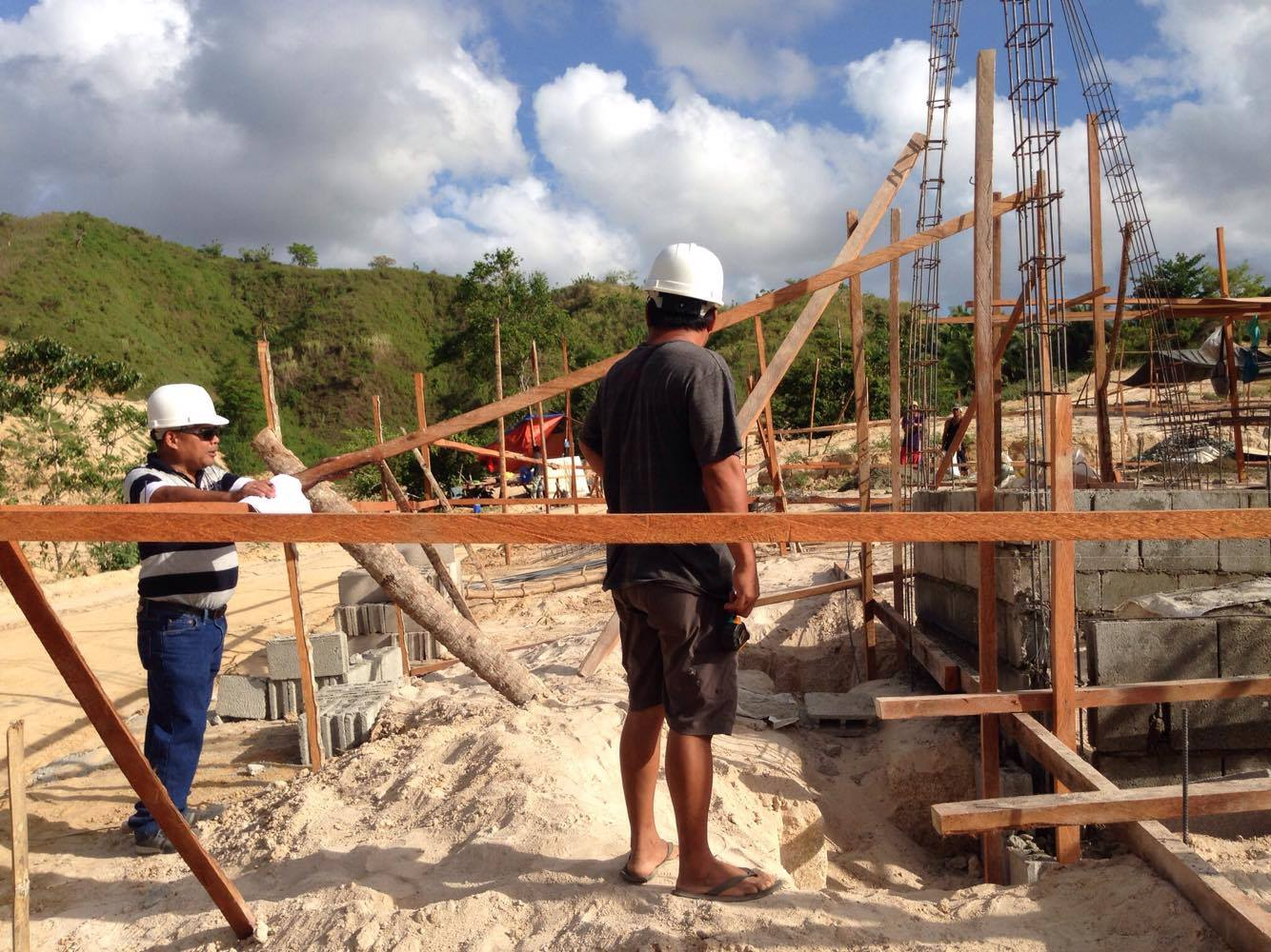 Starting construction – May