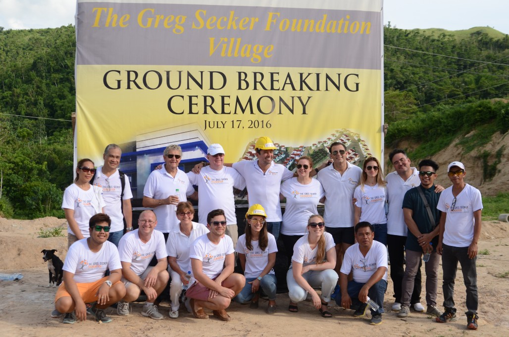 GSF Lemery Ground Breaking Ceremony