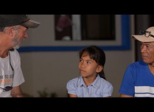 Steve Rae meets Fatima who received a life saving operation a couple of years ago.