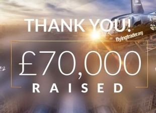An amazing £70,000 raised for the Foundation.