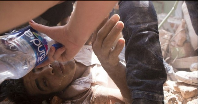 Boy and Water Image