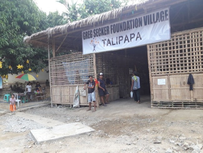 """Huge excitement as """"Talipapa"""" opens up in the GSF Village."""