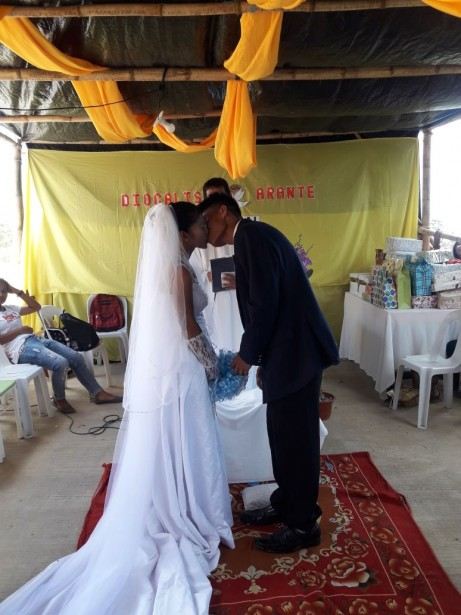 Weddings and Christenings in the GSF Village.