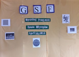 The GSF Village Sports Olympics has begun ….