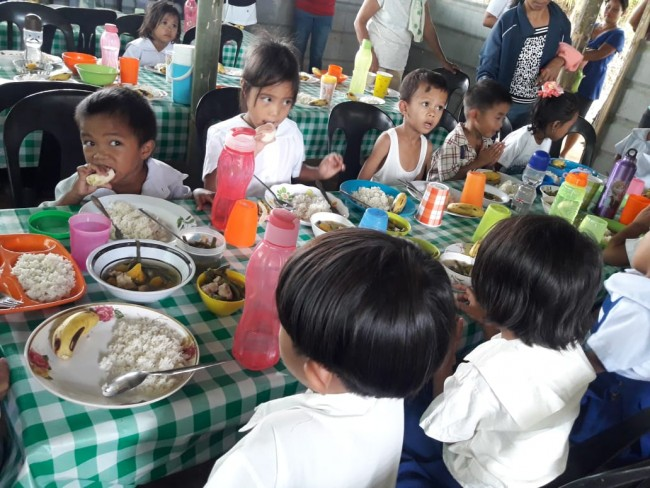 Nutrition Programme at the Capinahan School.