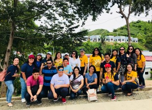 Central Philippines University Elementary Department visit the GSF Village