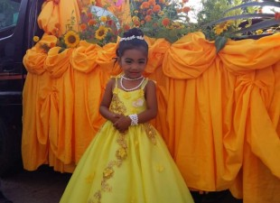 "Queen of Barangay Capinahan, is our very own ""April Rose""."