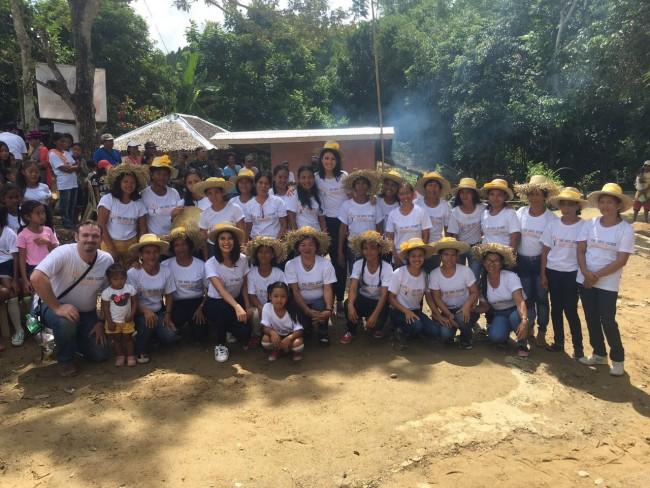 Women in village - Medical Mission